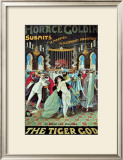 Horace Goldin: The Tiger God, 1920 Prints