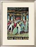 Horace Goldin: The Tiger God, 1920 Prints