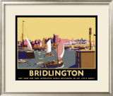 Bridlington Framed Giclee Print by Frank Mason