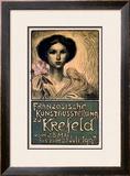 Franzosische Kunstausstellung zu Krefeld Framed Giclee Print by Théophile Alexandre Steinlen