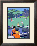 Holiday Rivers Framed Giclee Print by Henry George Gawthorn