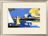 Clacton-On-Sea Framed Giclee Print by Frank Mason