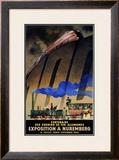 Exposition a Nuremburg Framed Giclee Print by Jupp Wiertz