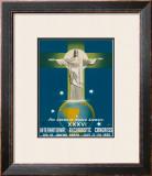 International Eucharistic Congress, Rio de Janeiro, Brazil, c.1955 Framed Giclee Print by  La Motta
