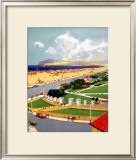 Zetland Park, Redcar Framed Giclee Print by Frank Mason