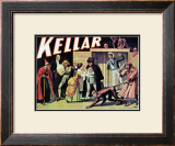 Kellar: The Witch, The Sailor and the Enchanted Monkey, 1905 Print