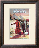 The Great Ramses, Mystic of the Orient, 1914 Art