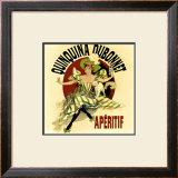 Vintage Dubonnet Liquor Framed Giclee Print by Kate Ward Thacker