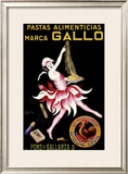 Gallo, Pastas Alimenticias Framed Giclee Print by Leonetto Cappiello