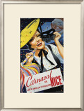 Carnaval de Nice Framed Giclee Print by Emmanuel Gaillard