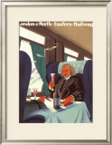 Passengers of the Past Framed Giclee Print by Austin Cooper