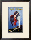 Eau des Recollets Framed Giclee Print by Leonetto Cappiello