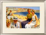 Bridlington, LNER Poster, 1938 Framed Giclee Print by Septimus Scott