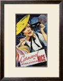 Carnaval de Nice Framed Giclee Print by Emmanuel Gaillard