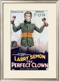 Larry Seman Perfect Clown Framed Giclee Print
