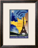 Paris, International Exposition 1937 Framed Giclee Print by  Lilden