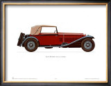1930 Alfa Romeo Posters