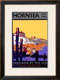 Hornsea, LNER Poster, 1926 Framed Giclee Print by Harry Hudson Rodmell