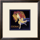 Vintage Cognac Framed Giclee Print by Kate Ward Thacker