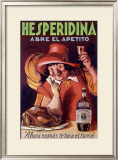 Hesperidina Elixer Drink Framed Giclee Print by Achille Luciano Mauzan