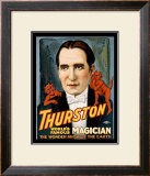 Thurston World Famous Magician Framed Giclee Print
