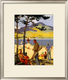 Silloth-on-Solway Framed Giclee Print by Henry George Gawthorn