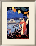 Vichy, Comite des Fetes Framed Giclee Print