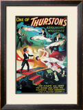 Thurston's Levitation, 1935 Prints