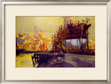 Whitby Framed Giclee Print by Frank Mason