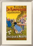 Eixir de Kempenaar Framed Giclee Print by Henri Cassiers