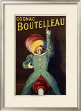 Cognac Boutelleau Framed Giclee Print by Leonetto Cappiello