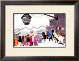 Berwick-upon-Tweed Framed Giclee Print by Doris Clare Zinkeisen