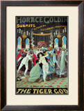 Horace Goldin: The Tiger God, 1920 Poster