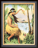 Mid-Pacific Carnival, Hawaii, 1915 Print