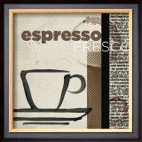 Espresso Fresco Posters by Tandi Venter