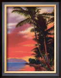 """Isle O' Dreams"", Hawaii Framed Giclee Print"