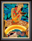 The Luau Framed Giclee Print by Frank MacIntosh