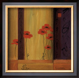 Poppy Tile I Art by Don Li-Leger