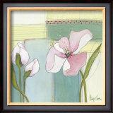 Pink Poppy II Print by Milena More