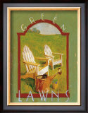 Green Lawns Prints by Thomas LaDuke