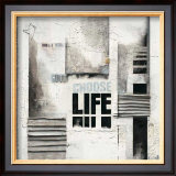 Choose Life Poster by Marie Louise Oudkerk