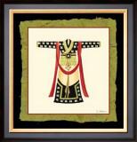 Kimono III Posters by Nancy Slocum