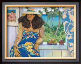 Lanikai Studio Framed Giclee Print by Susan McGovney Hansen