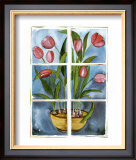 Tulips at the Window Prints by Sonia P.
