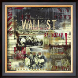 Wall Street Station Prints by Vincent Gachaga