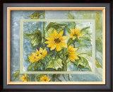 Flowers of Sun Prints by Martina Reimann