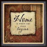 Home Poster by Jennifer Pugh