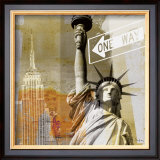 New York II Posters by Gery Luger