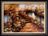 Autumn Leaves Art by Diane Romanello