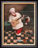 Christmas Chef I Prints by T. C. Chiu